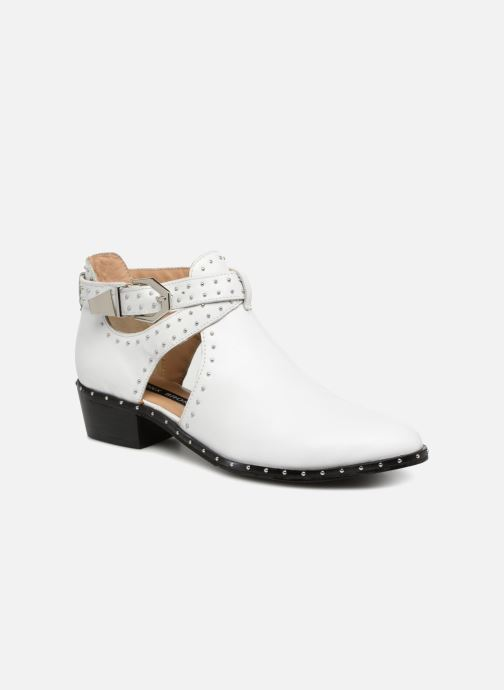 Ankle boots Bronx BTEX-CHUNKY White detailed view/ Pair view