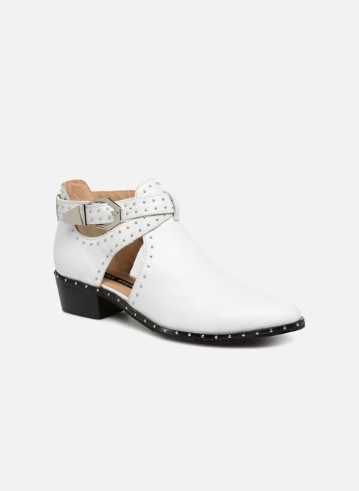 Bottines et boots Bronx BTEX-CHUNKY Blanc vue détail/paire