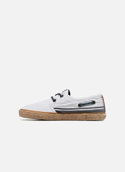 Espadrilles Pepe jeans Sailor Tape White front view
