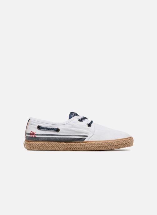 Espadrilles Pepe jeans Sailor Tape Blanc vue derrière