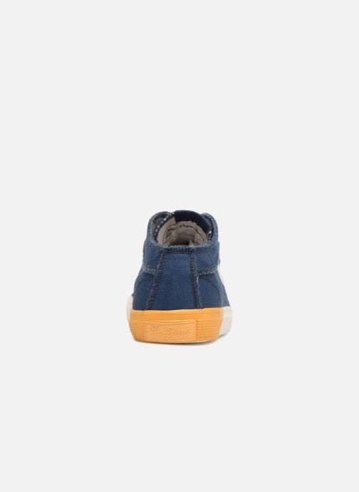 Baskets Pepe jeans Industry Ziggy Bleu vue droite