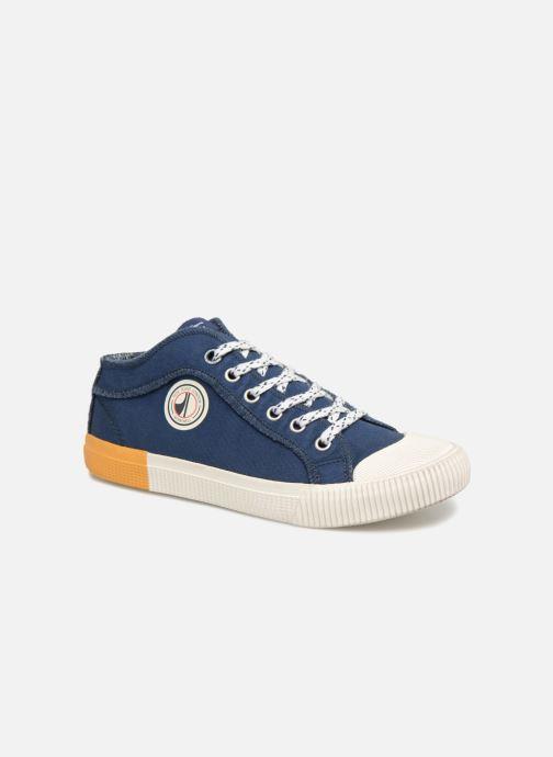 Baskets Pepe jeans Industry Ziggy Bleu vue détail/paire