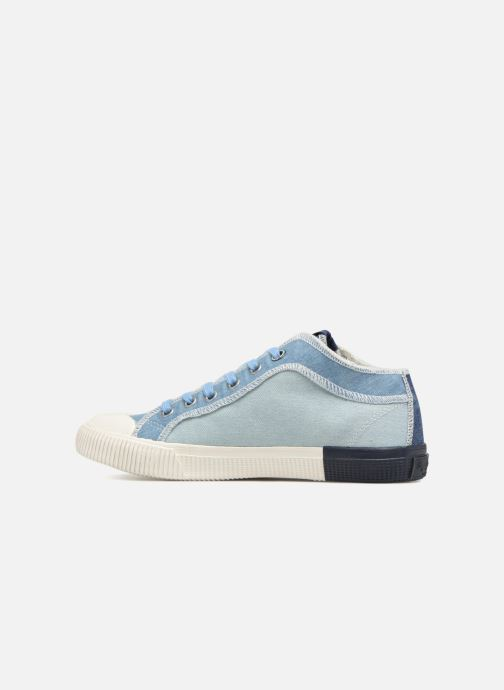 Baskets Pepe jeans Industry Ziggy Bleu vue face