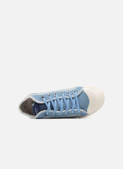 Baskets Pepe jeans Industry Ziggy Bleu vue gauche