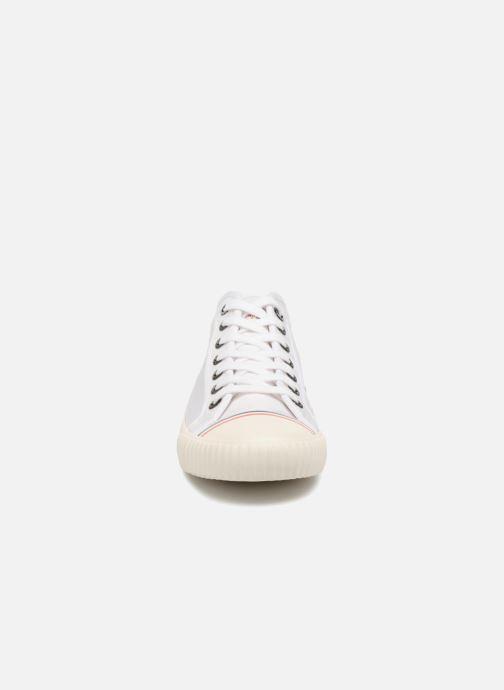 Baskets Pepe jeans Industry Nylon Blanc vue portées chaussures