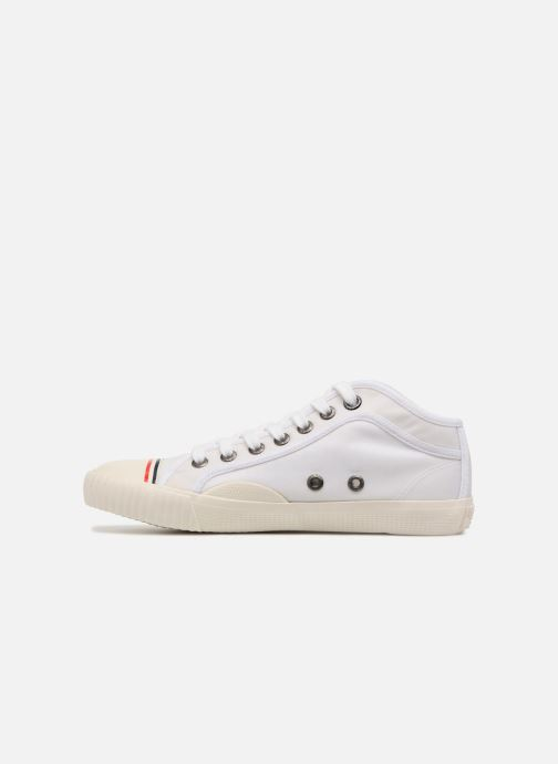 Baskets Pepe jeans Industry Nylon Blanc vue face