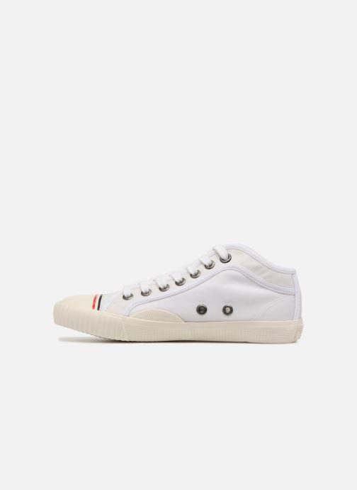Sneaker Pepe jeans Industry Nylon weiß ansicht von vorne