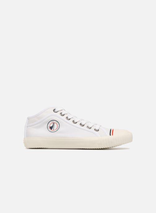 Sneaker Pepe jeans Industry Nylon weiß ansicht von hinten