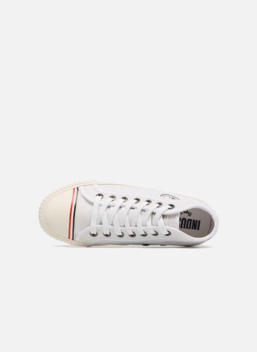 Sneaker Pepe jeans Industry Nylon weiß ansicht von links