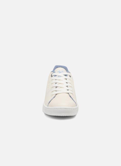 Baskets Pepe jeans Brompton Fp Boy Blanc vue portées chaussures