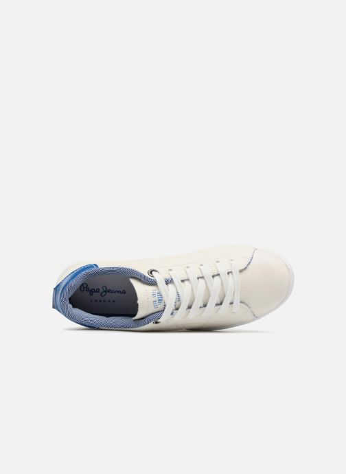 Baskets Pepe jeans Brompton Fp Boy Blanc vue gauche