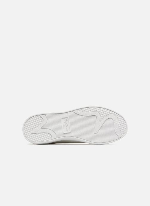 Baskets Pepe jeans Brompton Fp Boy Blanc vue haut