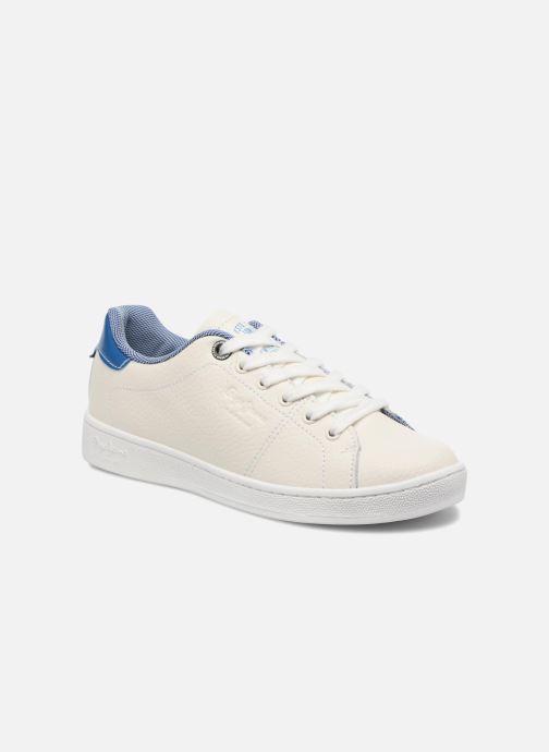 Baskets Pepe jeans Brompton Fp Boy Blanc vue détail/paire