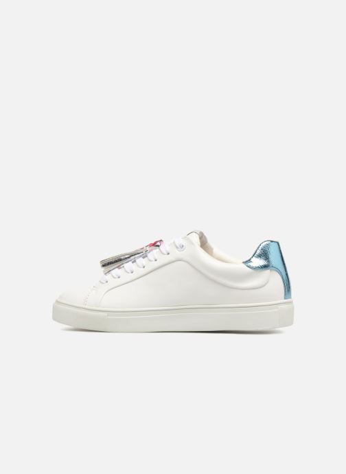 Trainers Pepe jeans Adams Tassels White front view