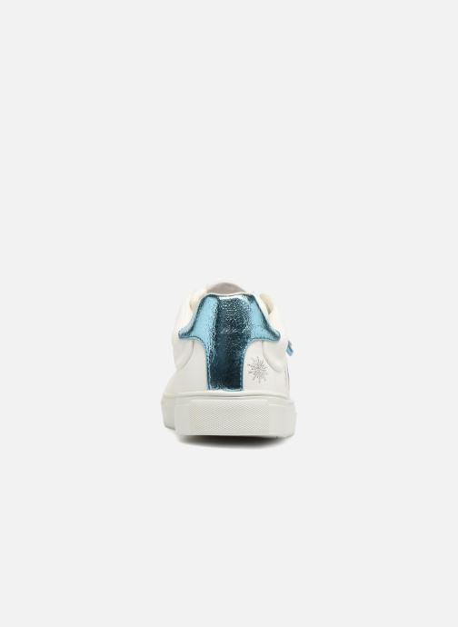 Baskets Pepe jeans Adams Tassels Blanc vue droite