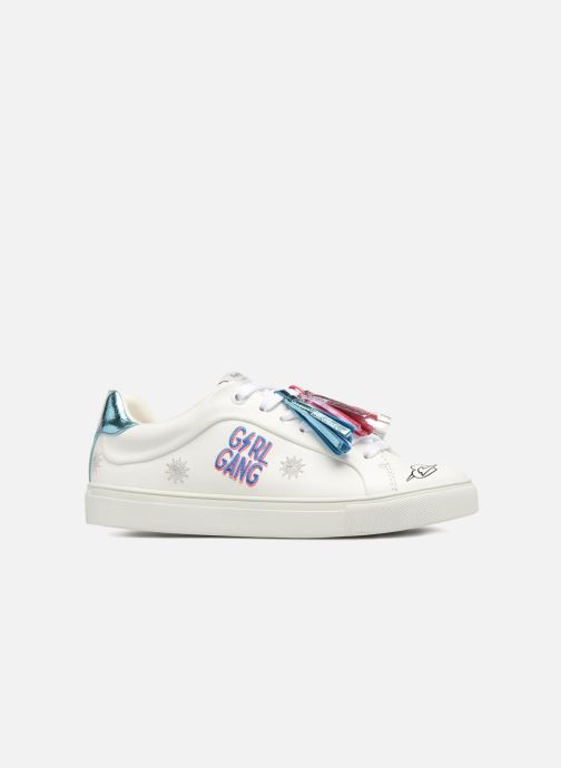 Trainers Pepe jeans Adams Tassels White back view