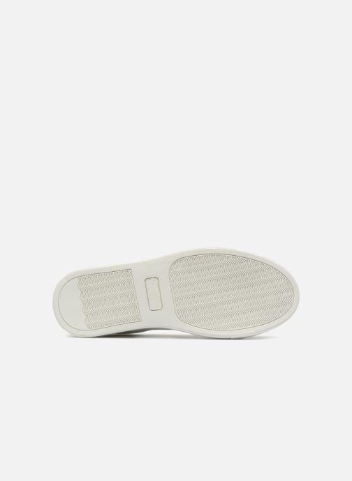 Baskets Pepe jeans Adams Tassels Blanc vue haut