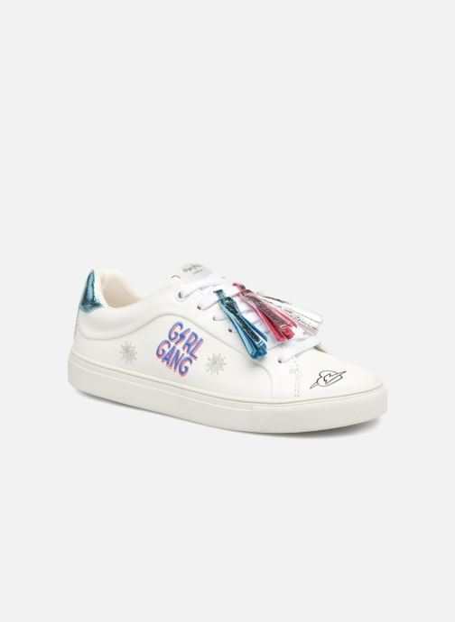 Trainers Pepe jeans Adams Tassels White detailed view/ Pair view