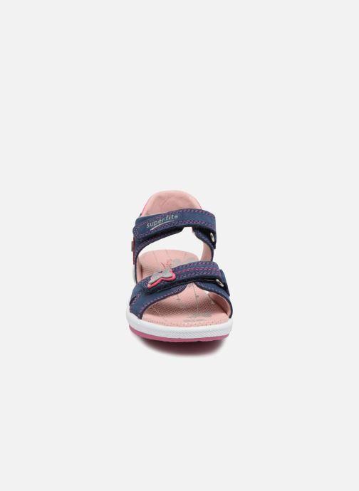 Sandales et nu-pieds Superfit Emily 2 Violet vue portées chaussures