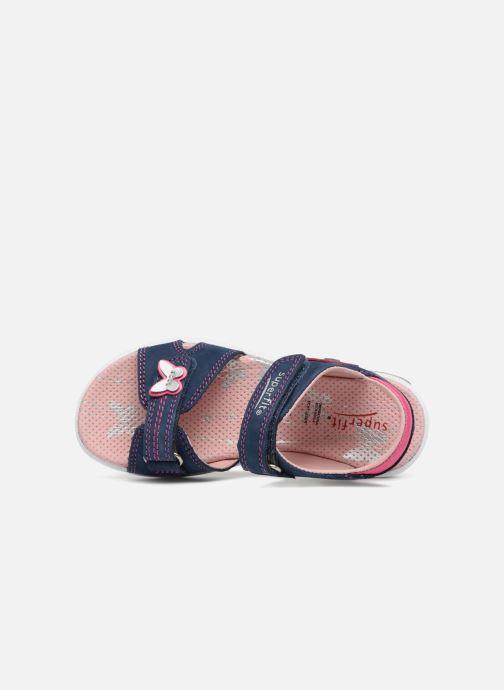 Sandali e scarpe aperte Superfit Emily 2 Viola immagine sinistra