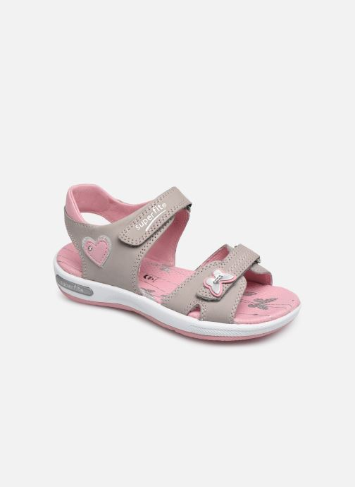 Sandals Superfit Emily 2 Beige detailed view/ Pair view