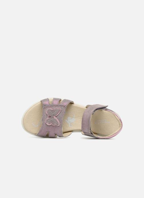 Sandales et nu-pieds Superfit Maya Violet vue gauche