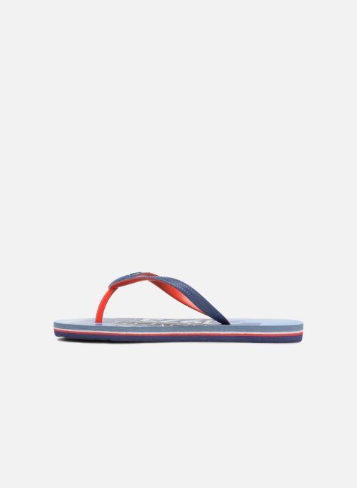 Flip flops & klipklapper Pepe jeans Beach Blue Blå se forfra