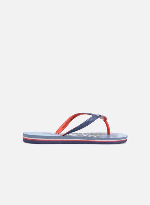 Flip flops & klipklapper Pepe jeans Beach Blue Blå se bagfra