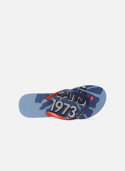 Flip flops & klipklapper Pepe jeans Beach Blue Blå se fra venstre