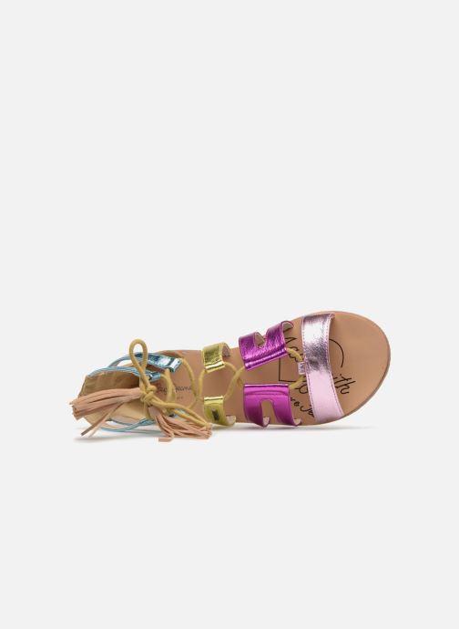 Sandales et nu-pieds Pepe jeans Nina Colors Multicolore vue gauche