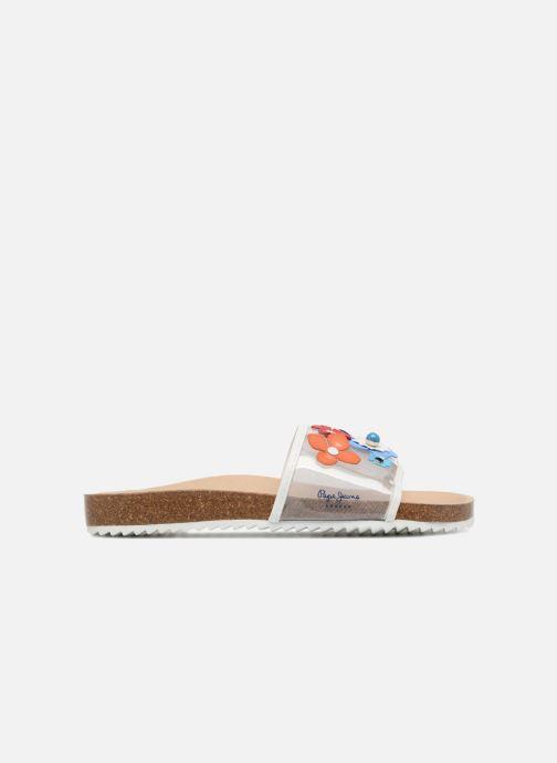 Sandales et nu-pieds Pepe jeans Bio Flowers Multicolore vue derrière
