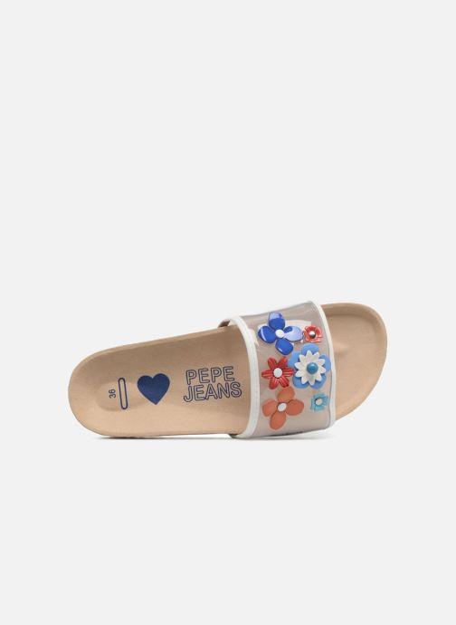 Sandales et nu-pieds Pepe jeans Bio Flowers Multicolore vue gauche
