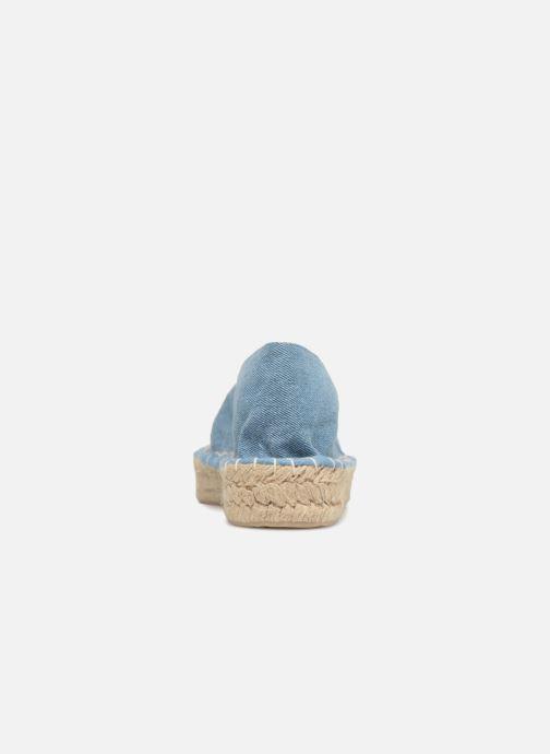 Espadrilles Pieces Haila tiger espadrille Bleu vue droite