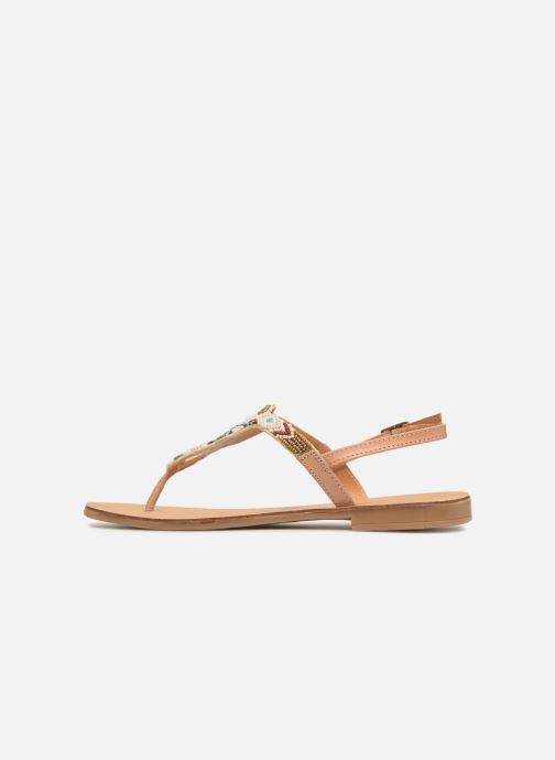 multi Nude Carmen Sandal Leather Pieces E29beWHIYD