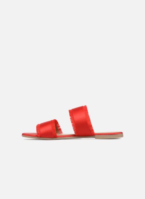 Mules et sabots Pieces Mio sandal Rouge vue face