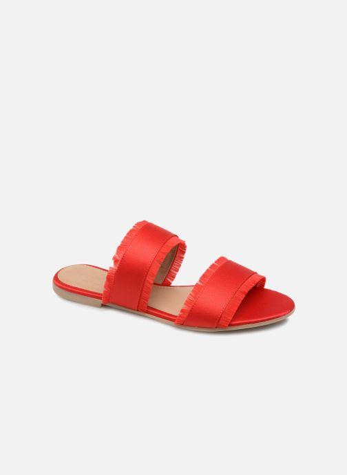 Mules et sabots Pieces Mio sandal Rouge vue détail/paire