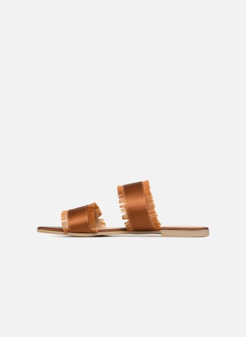 Mules et sabots Pieces Mio sandal Marron vue face