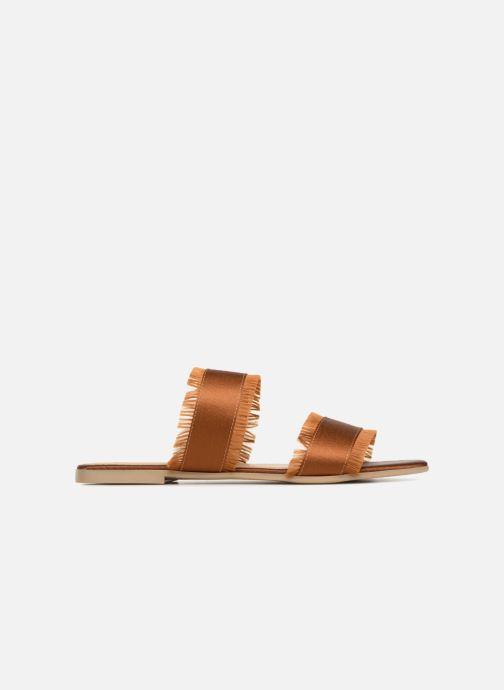 Wedges Pieces Mio sandal Bruin achterkant