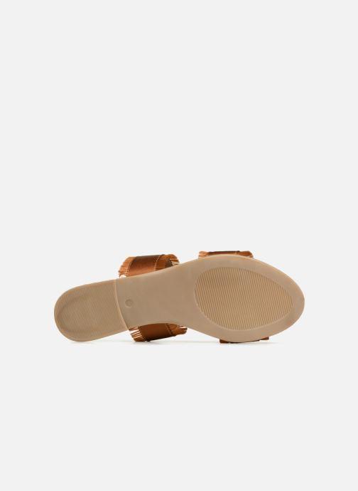 Zoccoli Pieces Mio sandal Marrone immagine dall'alto