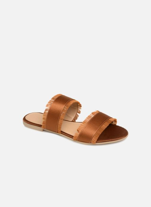 Mules et sabots Pieces Mio sandal Marron vue détail/paire