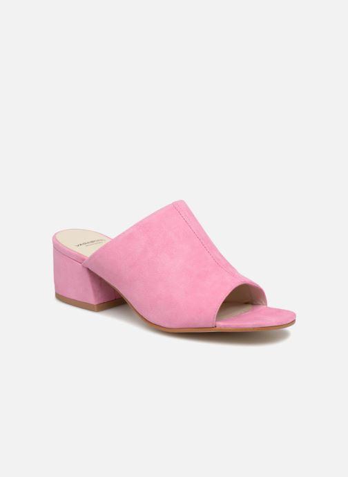 Mules et sabots Vagabond Shoemakers Saide 2 Rose vue détail/paire