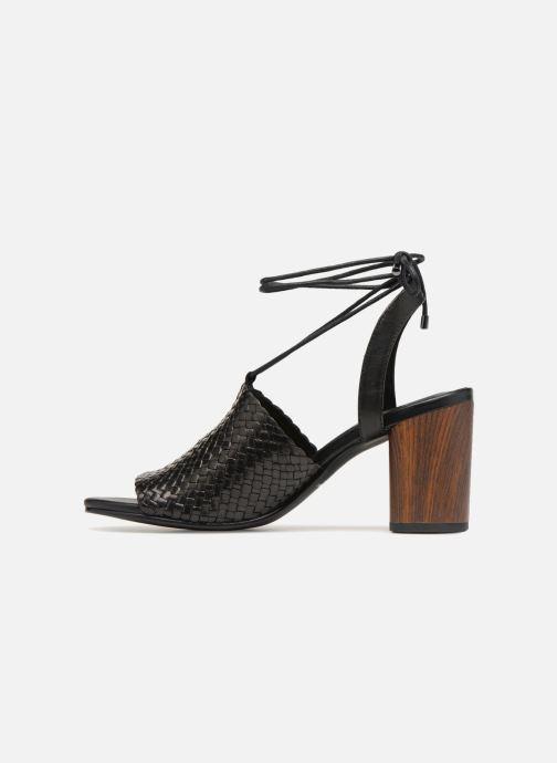 Sandales et nu-pieds Vagabond Shoemakers Carol Noir vue face