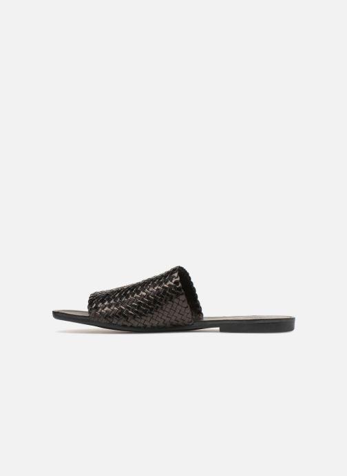 Zuecos Vagabond Shoemakers Tia Negro vista de frente