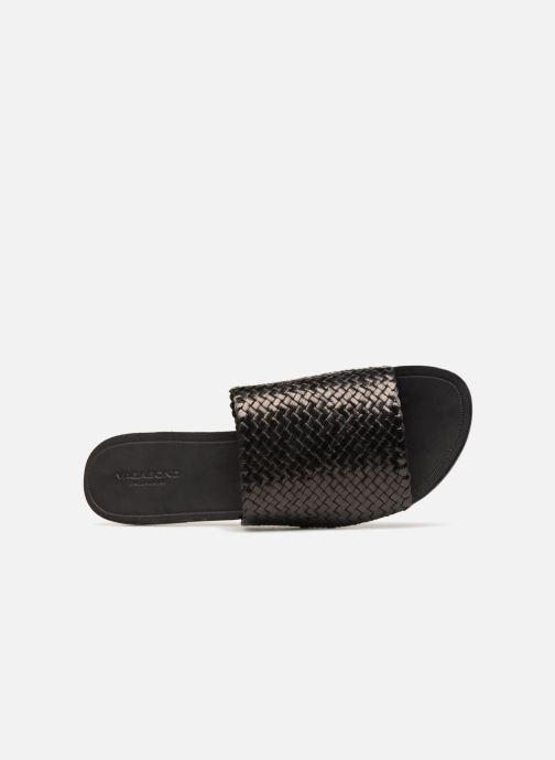 Clogs & Pantoletten Vagabond Shoemakers Tia schwarz ansicht von links