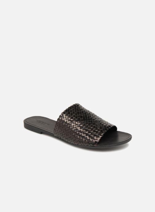Zuecos Vagabond Shoemakers Tia Negro vista de detalle / par