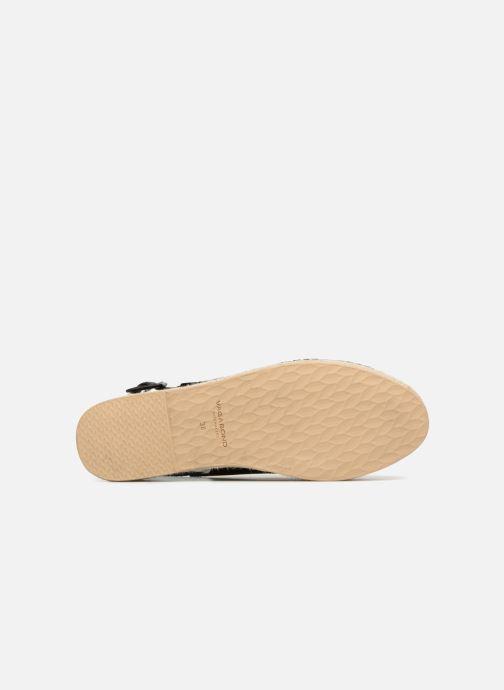 Alpargatas Vagabond Shoemakers Celeste 4533-101 Negro vista de arriba