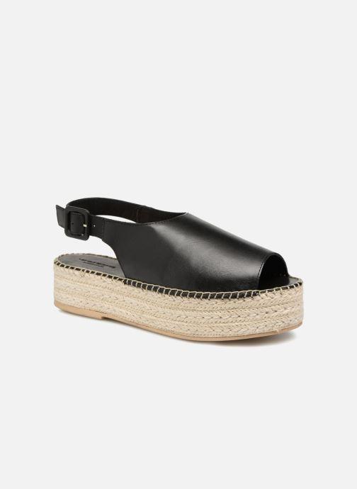 Alpargatas Vagabond Shoemakers Celeste 4533-101 Negro vista de detalle / par