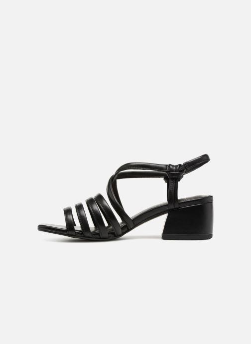 Sandales et nu-pieds Vagabond Shoemakers Saide 4 Noir vue face