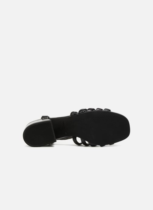 Sandalias Vagabond Shoemakers Saide 4 Negro vista de arriba