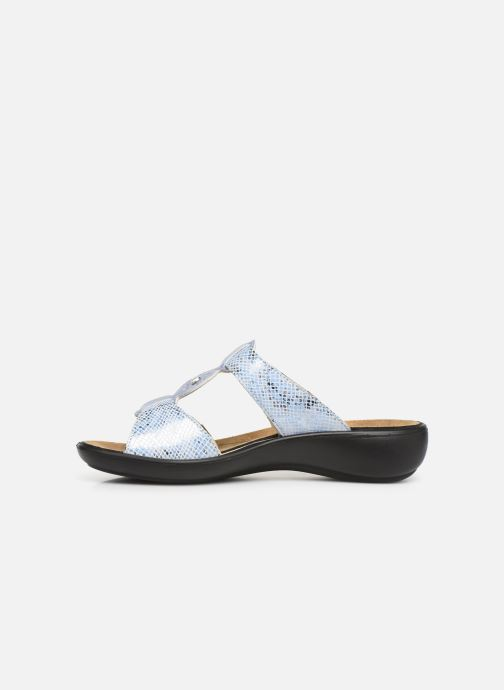 Mules & clogs Romika Ibiza 82 Blue front view